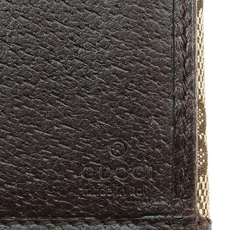 Gucci(구찌) 112715 GG로고 패브릭 2단 장지갑