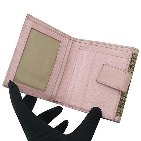 Dior(크리스챤디올) 실버 메탈 로고 디오르시모 중지갑 이미지4 - 고이비토 중고명품