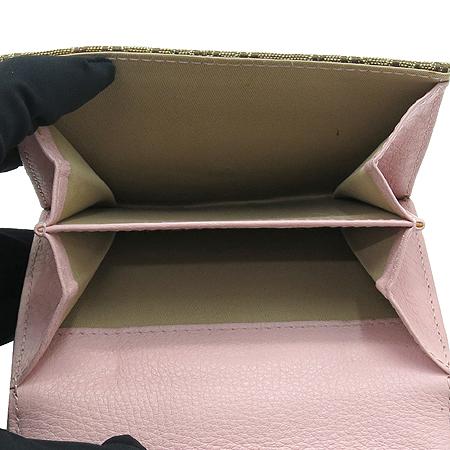 Dior(크리스챤디올) 실버 메탈 로고 디오르시모 중지갑