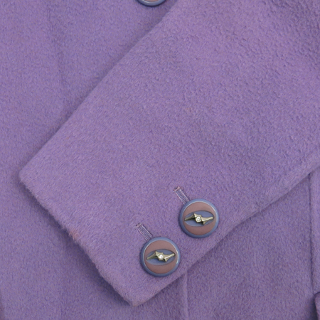 Versace(베르사체) 바이올렛컬러 캐시미어혼방 코트