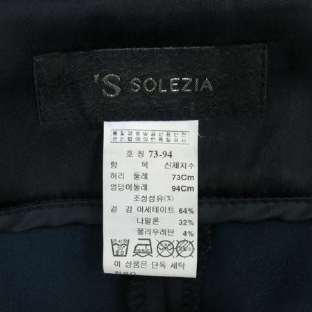 SOLEZIA(쏠레지아) 네이비컬러 바지