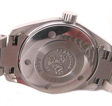 Omega(오메가) 2577.50 SEAMASTER(시마스터) AQUA TERRA(아쿠아 테라) 스틸 여성용 시계