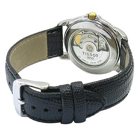 TISSOT(티쏘) BALLADE (발라드) AUTOMATIC 시스루백 남녀공용 가죽 밴드 오토매틱 시계
