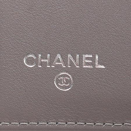 Chanel(샤넬) A48650 COCO로고 캐비어스킨 반지갑 [압구정매장] 이미지3 - 고이비토 중고명품