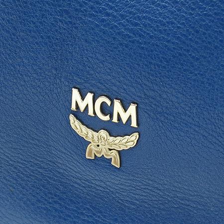 MCM(엠씨엠) MWH1AIE82LN001 EVA(에바) 네이비 레더 로고 스탬핑 은장로고 2WAY