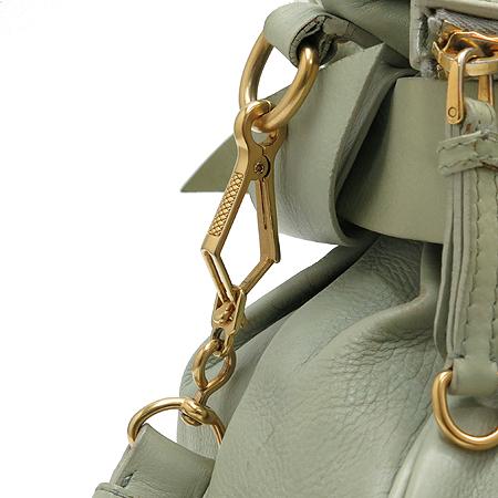 MiuMiu(미우미우) RT0438 VITELLO LUX 리본 장식 금장 로고 사첼 2WAY