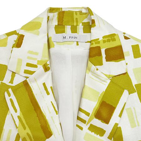 M.FFIN(엠핀) 화이트, 옐로우컬러 자켓 [부산센텀본점] 이미지2 - 고이비토 중고명품