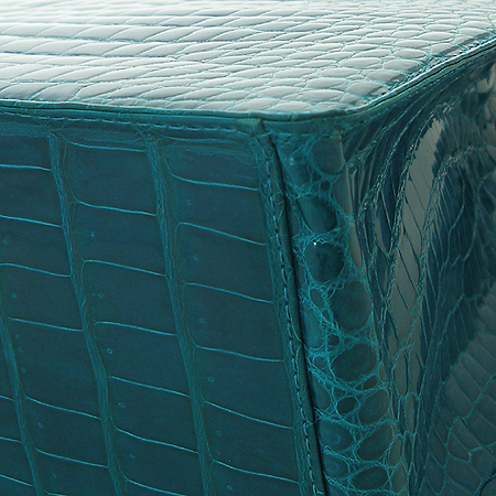 COLOMBO(콜롬보) CB08538RRTCL 11 JUNO 에메랄드 컬러  크로커다일  토트백