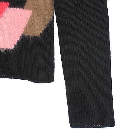 Versace(베르사체) 멀티 블랙컬러 앙고라혼방 니트