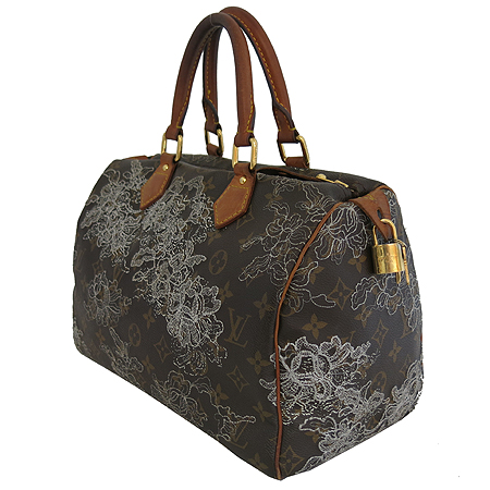 Louis Vuitton(루이비통) M95397 모노그램 덴텔 캔버스 한정판 스피디30 토트백 [일산매장]