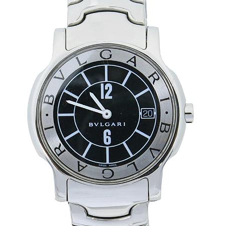 Bvlgari(불가리) ST35S 솔로템포 스틸 쿼츠 남성용 시계