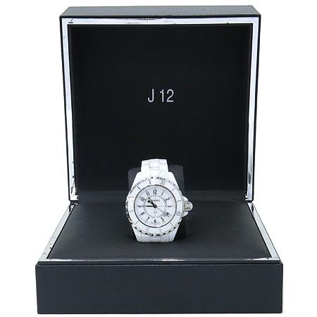 Chanel(샤넬) Chanel(샤넬) H0968 J12 33MM 쿼츠 화이트 세라믹 여성용 시계 [압구정매장]