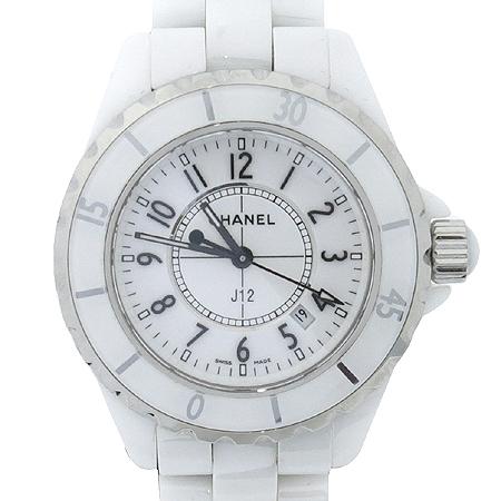 Chanel(샤넬) Chanel(샤넬) H0968 J12 33MM 쿼츠 화이트 세라믹 여성용 시계 [압구정매장] 이미지3 - 고이비토 중고명품
