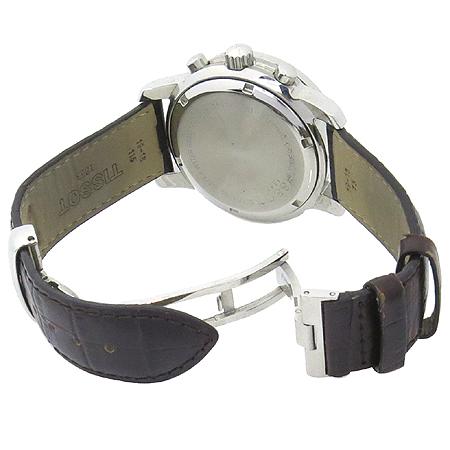 TISSOT(티쏘) T17.1.586.52 PRC200 크로노그라프 가죽밴드 남성용 시계 [명동매장]