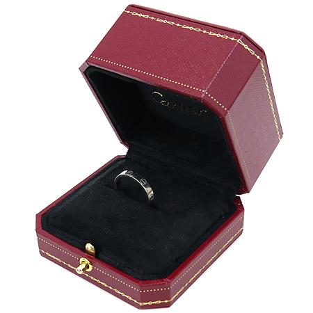 Cartier(까르띠에) B4085155 18K 화이트 골드 미니 러브링 반지
