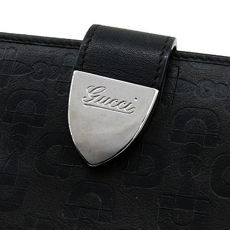 Gucci(구찌) 231837 이니셜 버클 장식 브라운 레더 장지갑[부천 현대점]