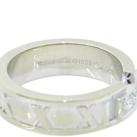 Tiffany(티파니) 18K 화이트 골드 아틀라스 3포인트 반지 [강남본점]