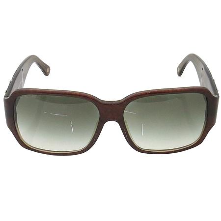 Versace(베르사체) 4145B 측면 로고 장식 뿔테 선글라스 이미지3 - 고이비토 중고명품