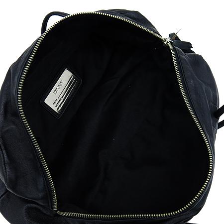 DKNY(도나카란) 블랙 레더 미니 숄더백