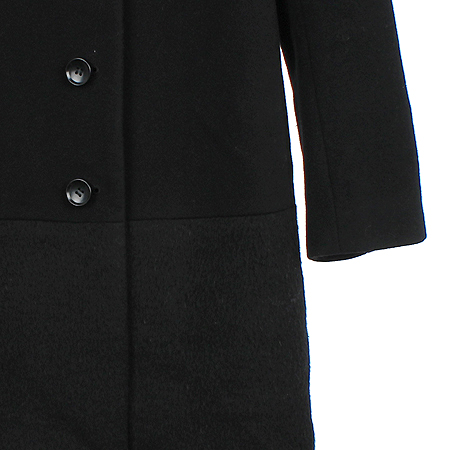 ICB(아이씨비) 블랙컬러 캐시미어혼방 코트