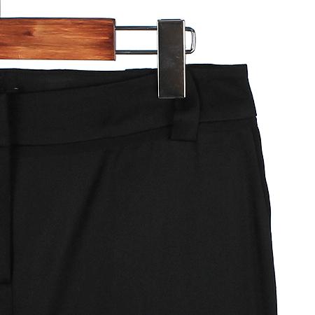 MICHAA(미샤) 블랙 컬러 바지(배색:실크 100)