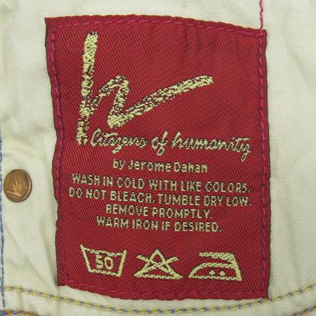 Premium Jeans(프리미엄진) CITIGENE OF HUMANITY(시티즌 오브 휴머니티) 스카이 블루 컬러 청바지 [부산센텀본점] 이미지5 - 고이비토 중고명품