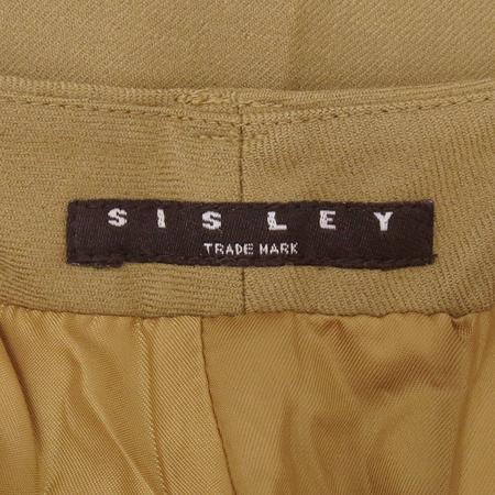 Sisley(시슬리) 베이지 컬러 바지