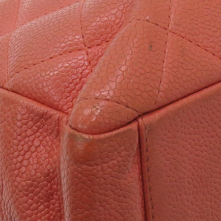 Chanel(샤넬) A20994 캐비어스킨 COCO 로고 스티치 정방 금장 체인 숄더백