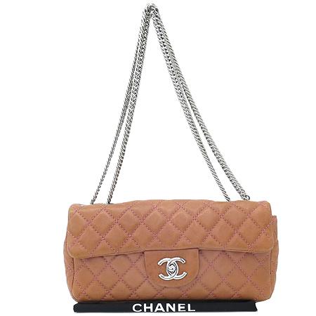 Chanel(샤넬) 시즌 램스킨 S사이즈 은장 체인 숄더백