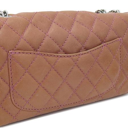 Chanel(샤넬) 시즌 램스킨 S사이즈 은장 체인 숄더백 이미지5 - 고이비토 중고명품