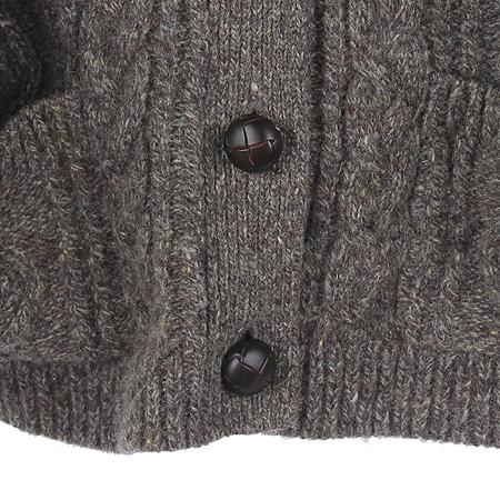 Polo Jeans(폴로 진스) 브라운컬러 카라 가디건
