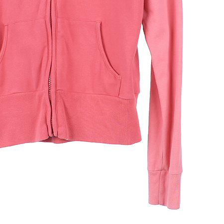 Polo Jeans(폴로 진스) 핑크컬러 후드 집업 가디건