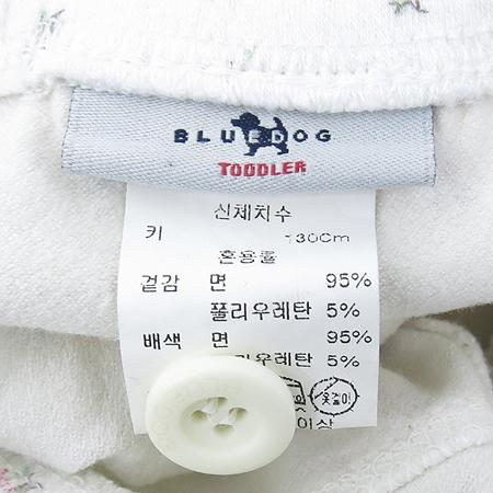 BLUEDOG(블루독) 아동용 후드 티 / 바지 세트