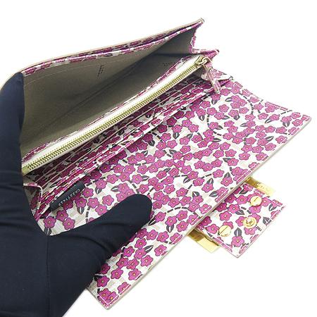 Fendi(펜디) 8M0021 로고 아이보리 PVC 장지갑 이미지5 - 고이비토 중고명품