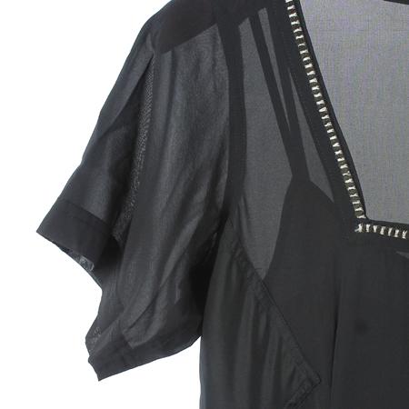 DKNY(도나카란) 블랙컬러 실크혼방 원피스 (속나시SET) 이미지3 - 고이비토 중고명품