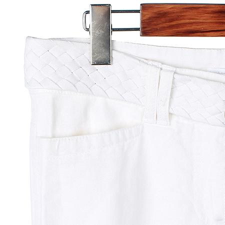 H&M(에이치엔엠) 화이트컬러 리넨혼방 바지 (벨트SET) 이미지2 - 고이비토 중고명품