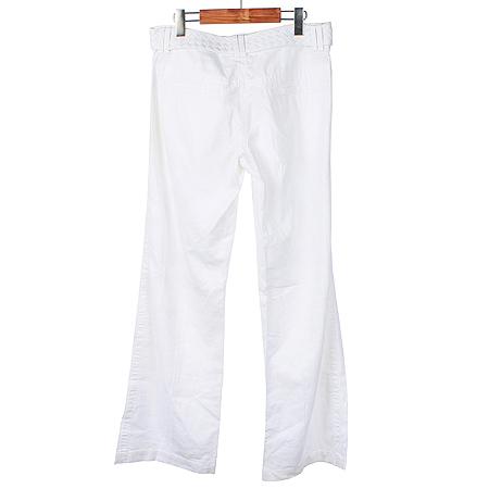 H&M(에이치엔엠) 화이트컬러 리넨혼방 바지 (벨트SET) 이미지4 - 고이비토 중고명품