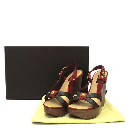 Louis Vuitton(루이비통) 레드 페이던트 여성용 샌들 [부천 현대점]