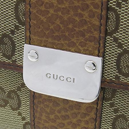 Gucci(구찌) 233011 GG로고 쟈가드 카멜 레더 트리밍 2단 중지갑