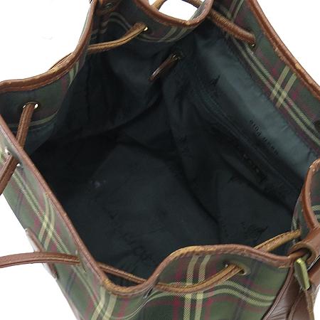 Bean Pole(빈폴) 로고 체크 PVC 크로스백 이미지5 - 고이비토 중고명품