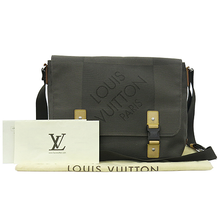 Louis Vuitton(루이비통) M93077 다미에 제앙 캔버스 LOUP TERRE 크로스백