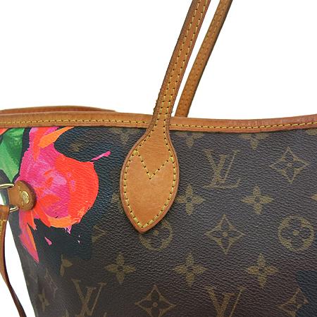 Louis Vuitton(루이비통) M48613 모노그램 캔버스 한정판 로즈 네버풀 MM 숄더백 [일산매장]