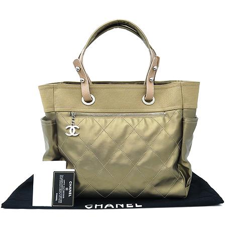 Chanel(샤넬) A34210 파리 비아리츠 L사이즈 투포켓 숄더백+보조 파우치 [부산본점]