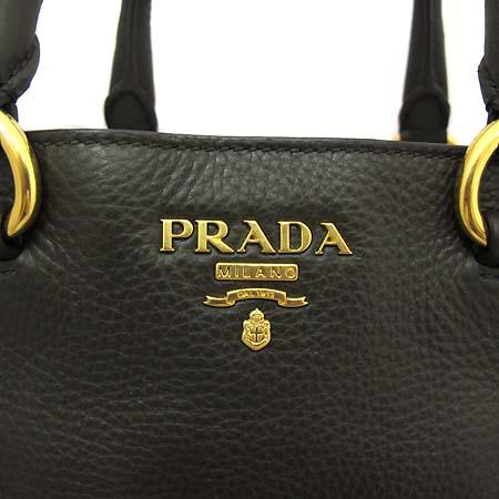 Prada(프라다) BN2356 금장로고 VIT.DAINO(송아지가죽) 밀리터리 토트백 + 숄더스트랩 [부천 현대점]