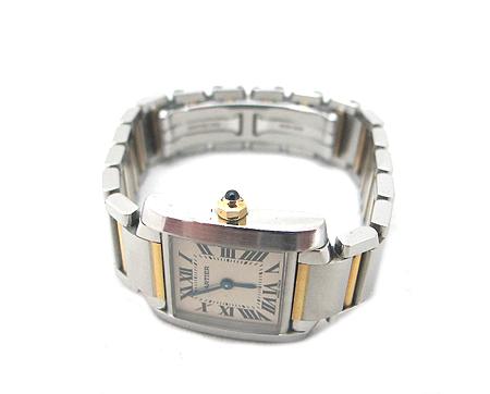 Cartier(까르띠에) W51007Q4 18K 콤비 탱크 S 사이즈 여성용 시계 [분당매장] 이미지3 - 고이비토 중고명품