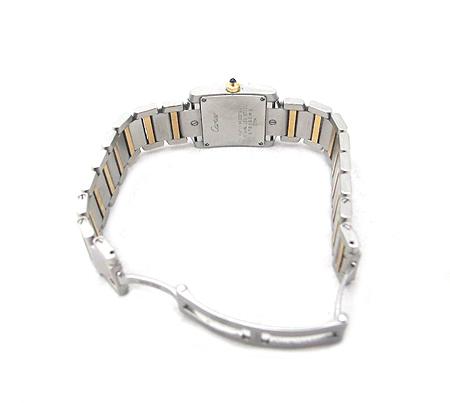 Cartier(까르띠에) W51007Q4 18K 콤비 탱크 S 사이즈 여성용 시계 [분당매장] 이미지4 - 고이비토 중고명품