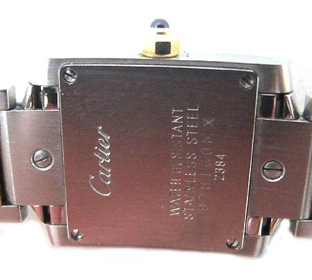 Cartier(까르띠에) W51007Q4 18K 콤비 탱크 S 사이즈 여성용 시계 [분당매장] 이미지5 - 고이비토 중고명품
