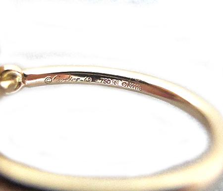 Cartier(��쿡) B4079749 18K ��ũ ��� �� �̽��� � ���̾� ����-9ȣ [�д����]