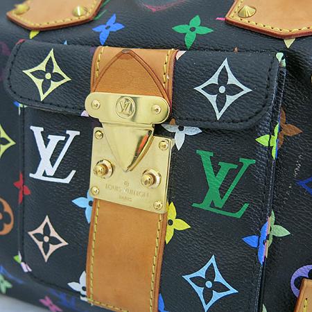 Louis Vuitton(루이비통) M92642 모노그램 멀티컬러 블랙 멀티스피디 30 토트백 [일산매장]