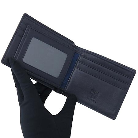 MCM(엠씨엠) MXS4SEG01LP001 블루 레더 남성용 반지갑